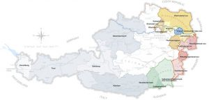 Vignoble autrichien Source : Austrian Wine